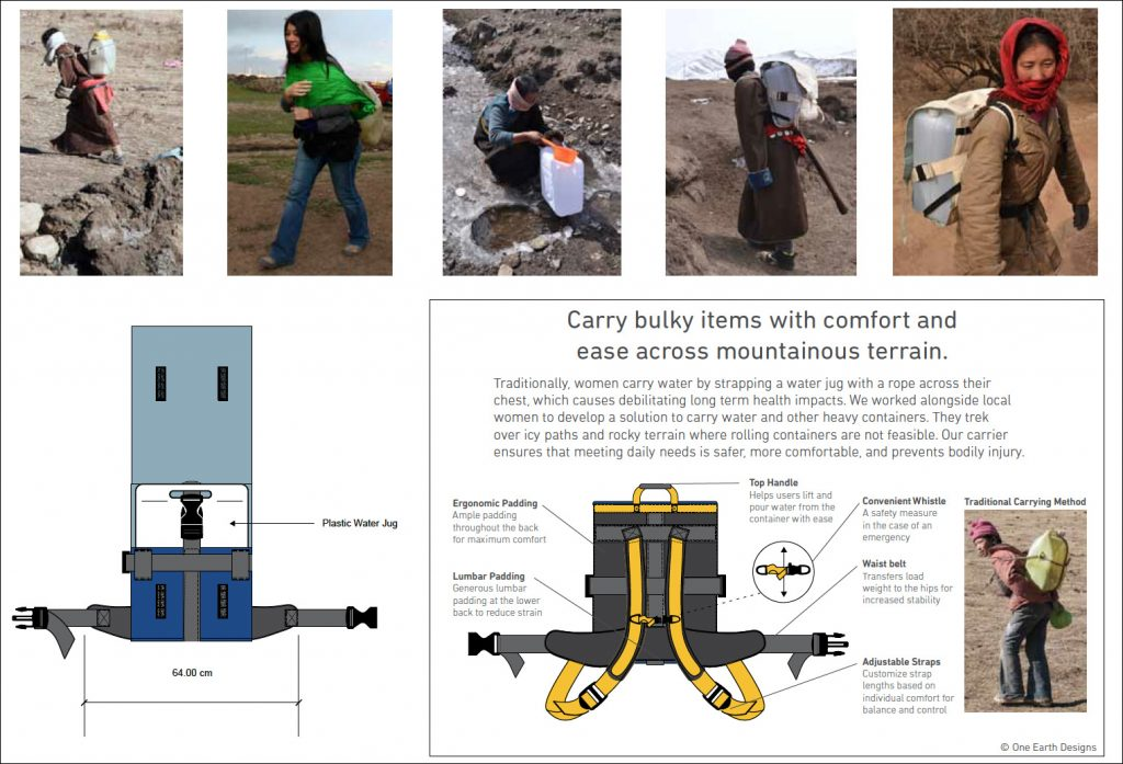 One Earth Designs_Water Carrier Research