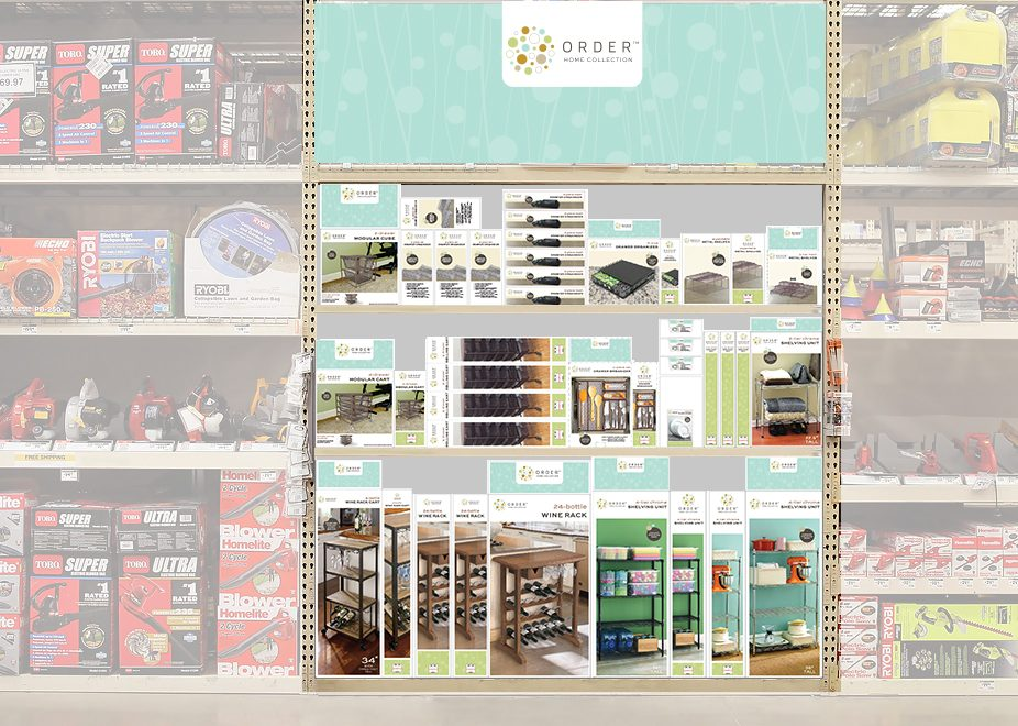 Merchandising Design Packaging Storage Organization Aisle