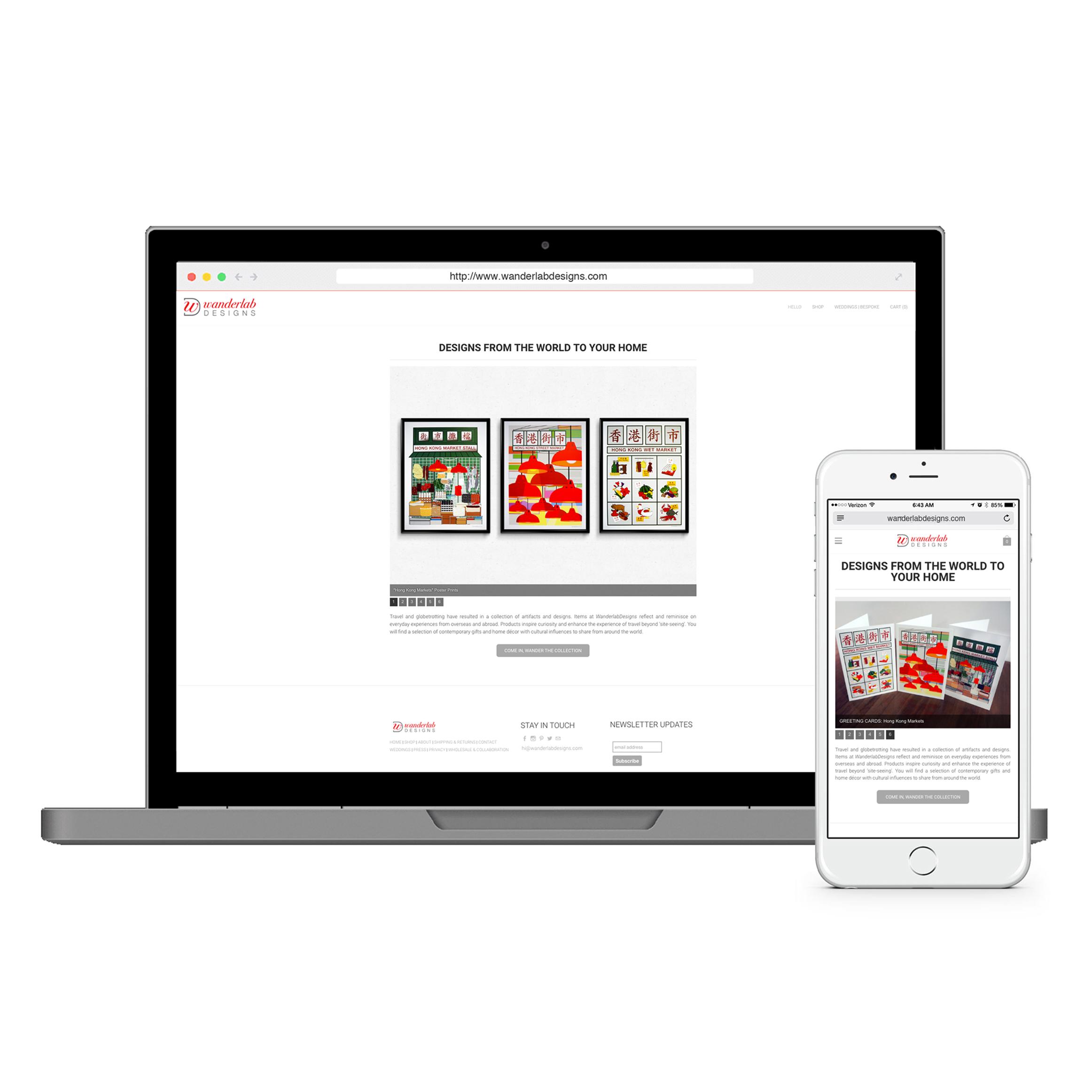 WanderlabDesigns_Website Design