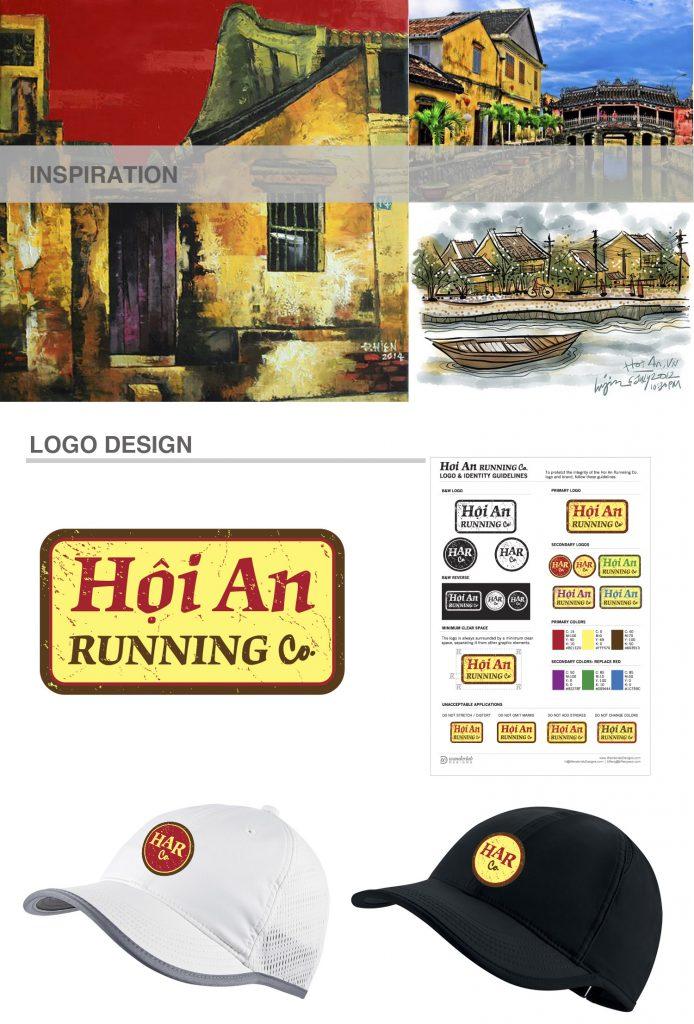 Hoi An Running HarCo logo design